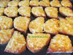 бутерброды с сыром